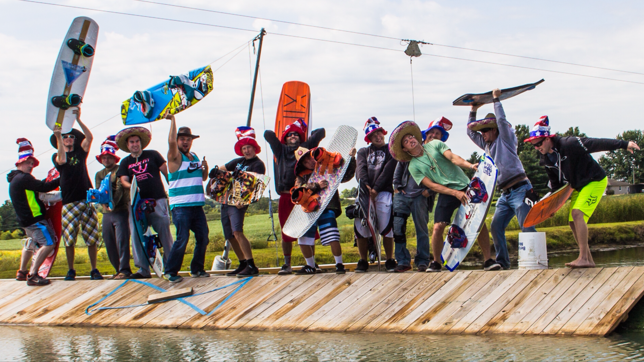 Bachelor Party: Wakeboard Style